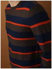White + Warren Striped Sweater