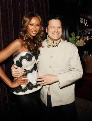Iman and Isaac Mizrahi