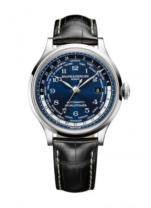 BAUME & MERCIER CAPELAND WORLDTIMER EXCLUSIVELY FOR TOURNEAU