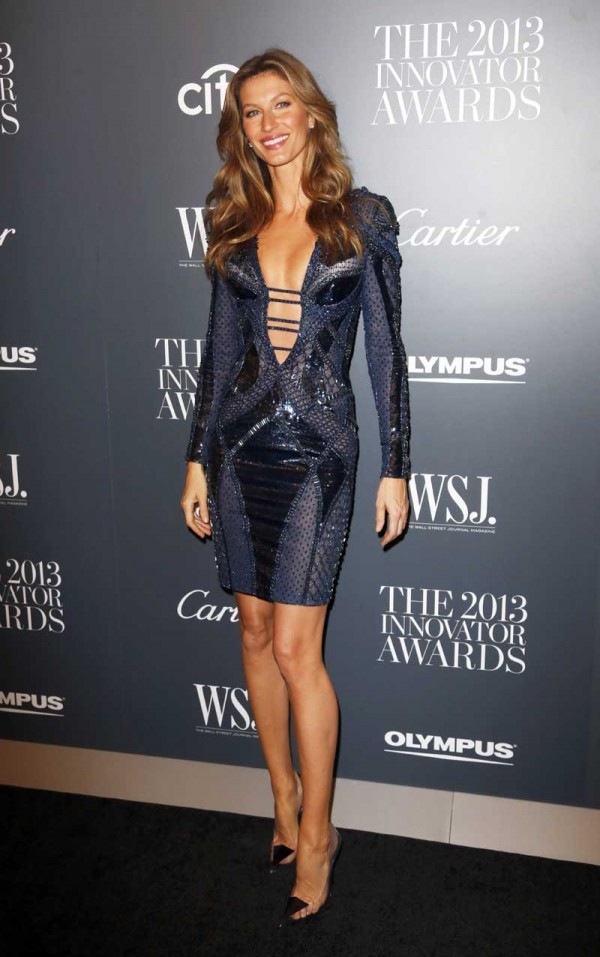 Celebrity Arrivals at the 'WSJ. Magazine 2013 Innovator Awards' in NYC