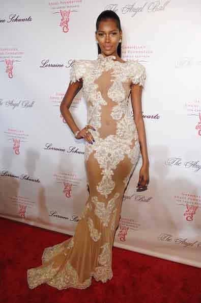 Supermodel Jessica White Stuns At Angel Ball Fashionwindows Blog