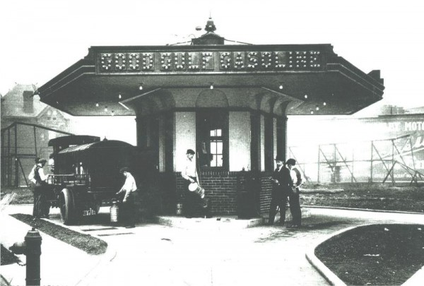 The first modern gas station opened in Pittsburgh on December 1, 1913