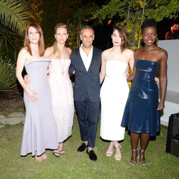 Julianne Moore, Naomi Watts, Francisco Costa,  Rooney Mara, Lupita Nyong'o