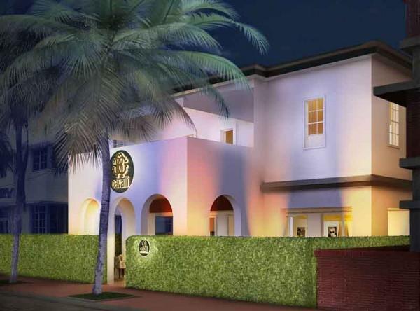 Cavalli Restaurant  Lounge Miami - External view