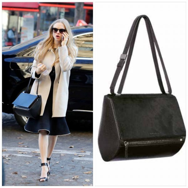 Amanda Seyfried Givenchy Pandora Box Bag
