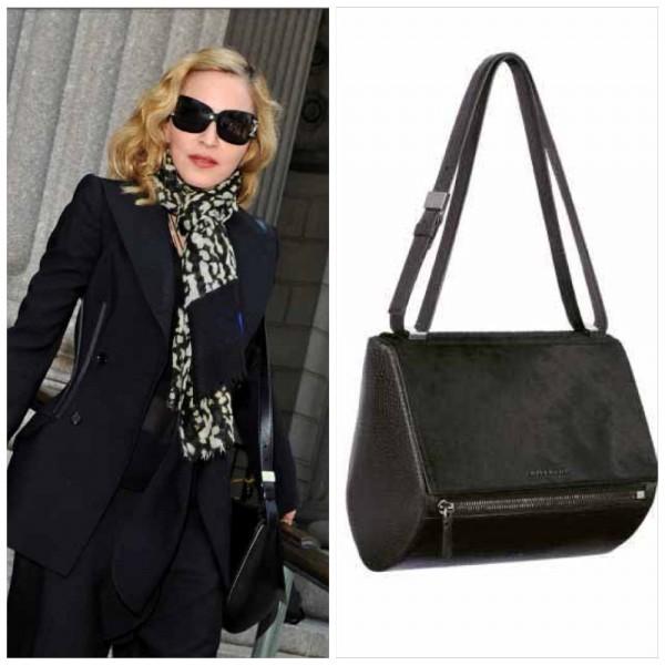 Madonna Givenchy Pandora Box bag