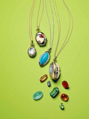 Custom Locket and Trip with Monica Rich Kosann