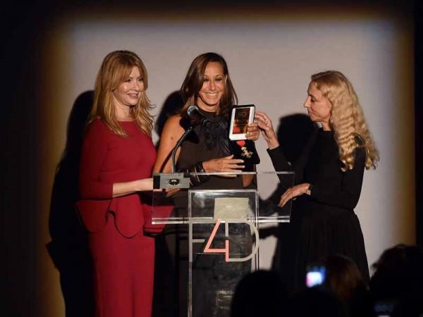 Evie Evangelou, Donna Karan and Franca Sozzani