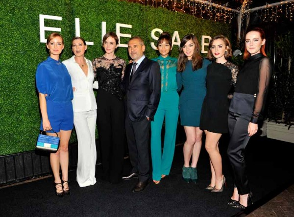 Elie Saab with his guests