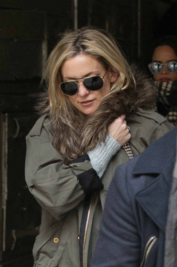 Celebrity Sightings In Paris  -  January 25, 2015