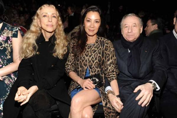 Sozzani franca;Michelle Yeoh;Jean Todt