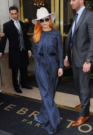 lady gaga in martin grant