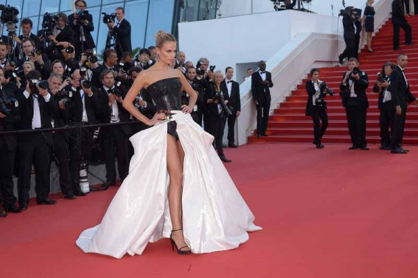"CANNES, FRANCE - MAY 17:  Natasha Poly attends the ""Carol"" Premiere during the 68th annual Cannes Film Festival on May 17, 2015 in Cannes, France.  (Photo by Dominique Charriau/WireImage)"