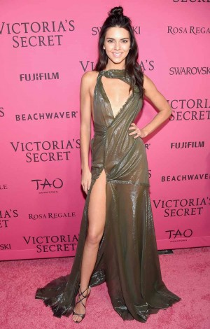 NEW YORK, NY - NOVEMBER 10: Model Kendall Jenner attends the 2015 Victoria's Secret Fashion After Party at TAO Downtown on November 10, 2015 in New York City. (Photo by Michael Loccisano/Getty Images for Victoria's Secret)
