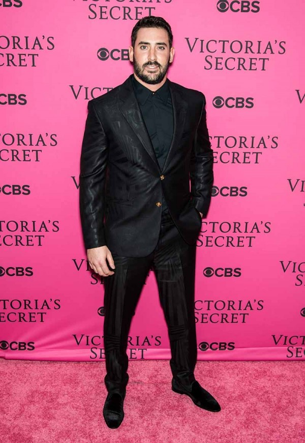 NEW YORK, NY - NOVEMBER 10:  New York Mets baseball player Matt Harvey attends 2015 Victoria's Secret Fashion Show at Lexington Armory on November 10, 2015 in New York City.  (Photo by Gilbert Carrasquillo/FilmMagic)
