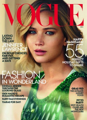 vogue cover jennifer lawrence