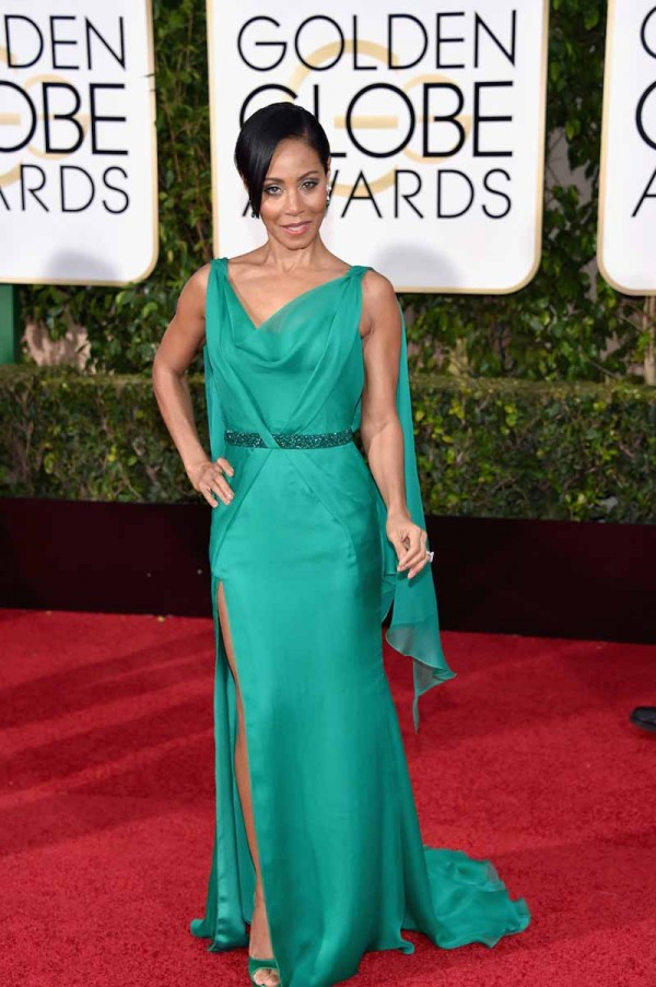BEVERLY HILLS, CA - JANUARY 10:  Actress Jada Pinkett Smith attends the 73rd Annual Golden Globe Awards held at the Beverly Hilton Hotel on January 10, 2016 in Beverly Hills, California.  (Photo by John Shearer/Getty Images)