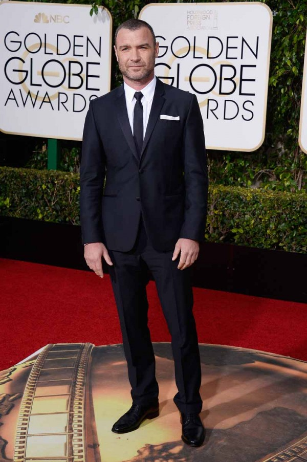BEVERLY HILLS, CA - JANUARY 10:  73rd ANNUAL GOLDEN GLOBE AWARDS -- Pictured: Actor Liev Schreiber arrives to the 73rd Annual Golden Globe Awards held at the Beverly Hilton Hotel on January 10, 2016.  (Photo by Kevork Djansezian/NBC/NBCU Photo Bank via Getty Images)
