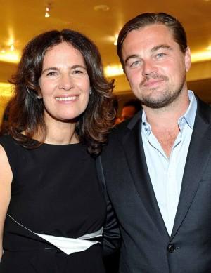 Roberta Armani and Leonardo DiCaprio