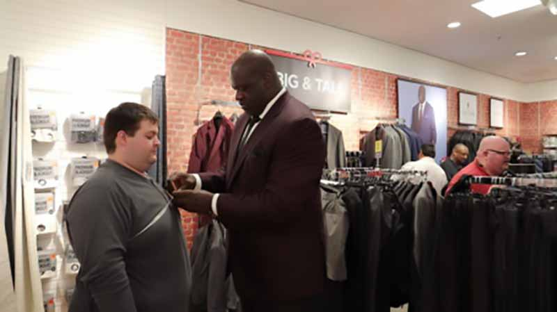 Shaq at JCPenney