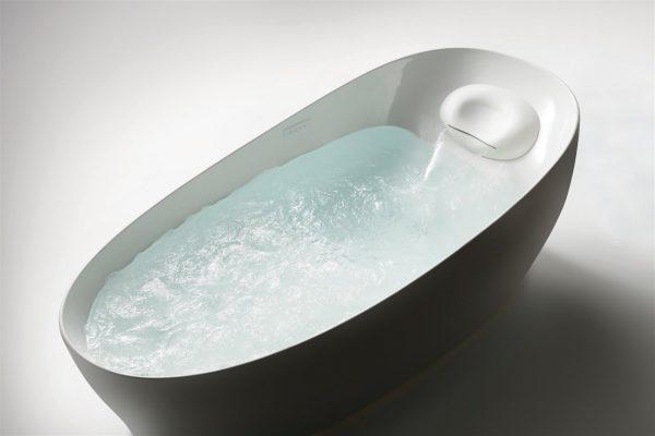 floating bathtub