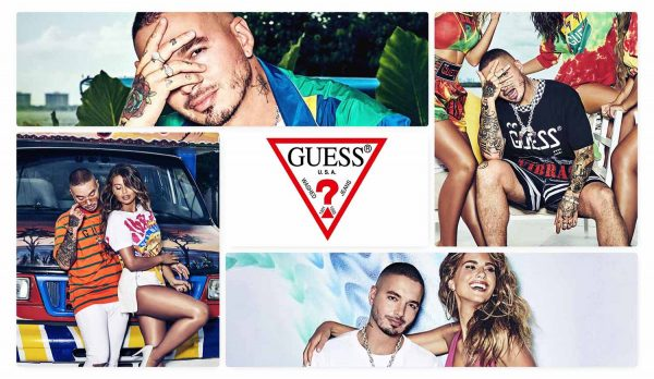 Guess J Balvin Capsule Collection