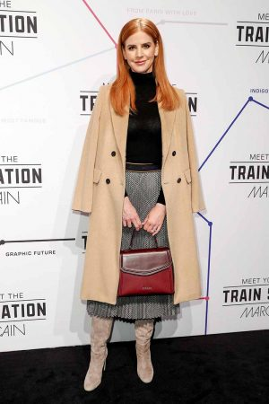 Sarah Rafferty at Marc Cain Fashion Show