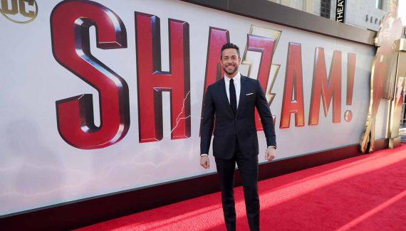 Zachary Levi Shazam Premiere (1)
