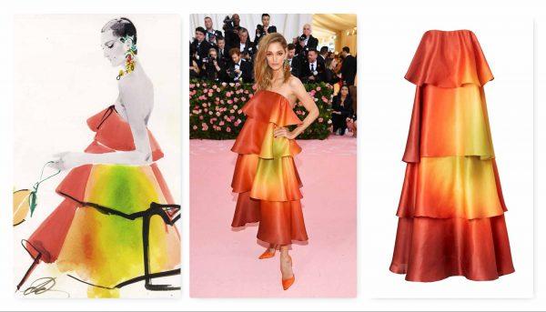 Mango Met Gala dress